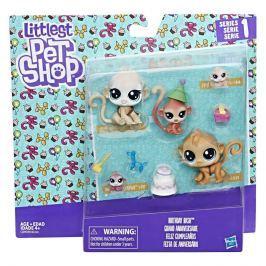 HASBRO - Littlest Pet Shop Rodinné balení zvířátek asst