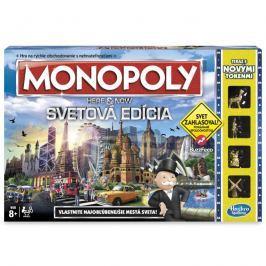 HASBRO - Monopoly Here And Now Světová Edice Sk