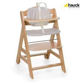 HAUCK - Židle na krmení Beta + - Natur / Check 2018