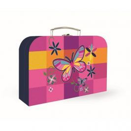 KARTON PP - Kufřík 34 cm Junior Premium - Motýl