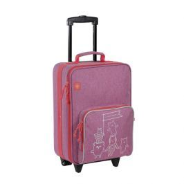 LÄSSIG - Dětský kufr Trolley About Friends mélange pink