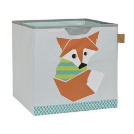 LÄSSIG - koš na hračky, Toy Cube Storage Little Tree fox
