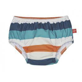 LÄSSIG - Plavky Swim Diaper Boys - multistripe 12 měsíců