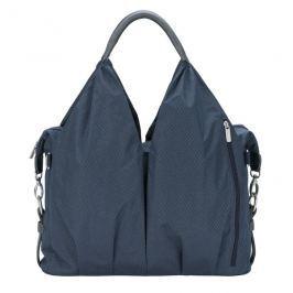 LÄSSIG - Taška na rukojeť Green Label neckline Bag Spin Dye - blue mélange