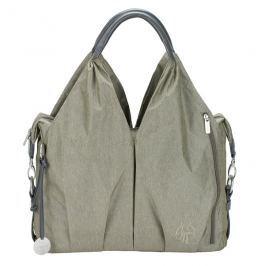 LÄSSIG - Taška na rukojeť Green Label neckline Bag Spin Dye - gold mélange