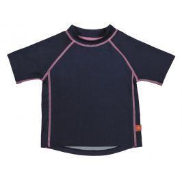LÄSSIG - Tričko Rashguard Short Sleeve Girls 2016 - navy XL
