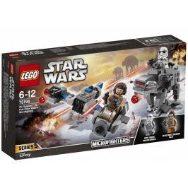 LEGO - Star Wars 75195 Sněžný Speeder vs. Kráčející kolos Prvního řádu