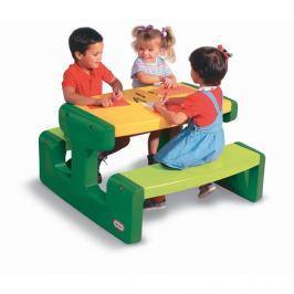 LITTLE TIKES - Velký piknikový stolek Evergreen 466A