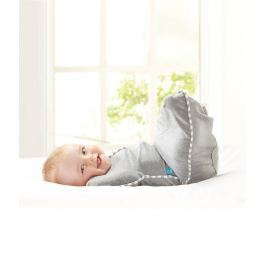 LOVE TO DREAM - Rychlozavinovačka Swaddle Up Original, White 3 - 6 kg