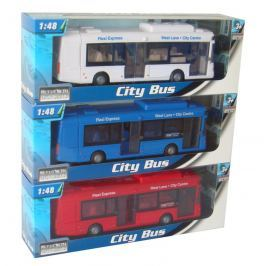 MAC TOYS - 1:48 Autobus Městský 3ass