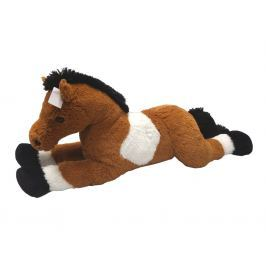 MAC TOYS - Kůň Bílo/Hnědý 80 Cm