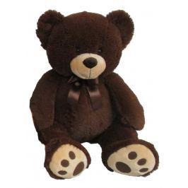 MAC TOYS - Plyšový Medvídek 60 Cm, Tmavě hnědý