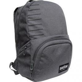 MAJEWSKI - Studentský batoh St. Right Melange light gray BP35