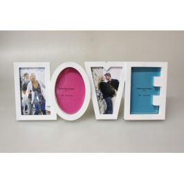 MAKRO - Fotorámeček Love 43 x 17 cm