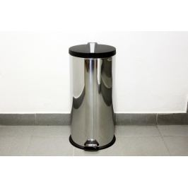 MAKRO - Nerezový koš na odpadky s pedálem, 30l
