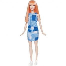 MATTEL - Barbie Fashionistas modelka Patchwork Denim - Klasická DYY90