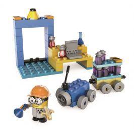 MATTEL - Mega Bloks Mimoňové Laboratoř S Vozidlem