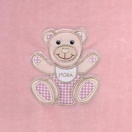MORA - Dolcce Baby, B64, 80x110, růžová
