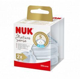 NUK - Nature Sense savička V2, S, 2ks