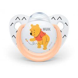 NUK - Dudlík Trendline DISNEY-Medvídek Pú, SI, V1 (0-6m. ), oranžová