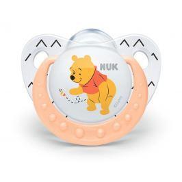 NUK - Dudlík Trendline DISNEY-Medvídek Pú, SI, V2 (6-18m. ), oranžová