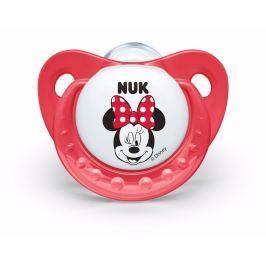 NUK - Dudlík Trendline DISNEY-Mickey, SI, V2 (6-18m. ), červená