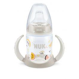 NUK - FC lahvička na učení PP 150ml, SI pítko, béžová