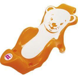 OK BABY - Lehátko do vaničky Buddy oranžová