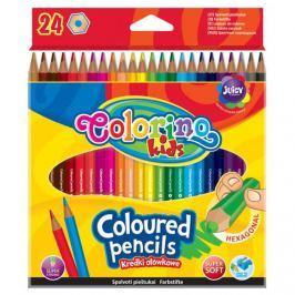 PATIO - Colorino pastelky hexagonalní 24 barev