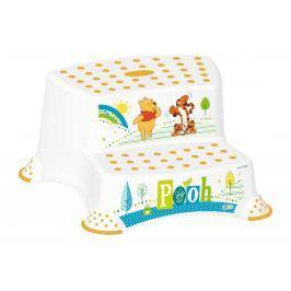 PRIMA BABY - Dvojstupienok k WC / umyvadlu Winnie Pooh - bílá