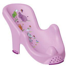 PRIMA BABY - Lehátko do vany Hippo - sv. fialová