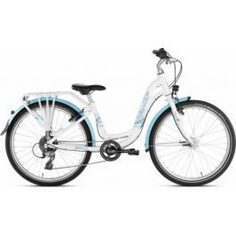 PUKY - dětské kolo SKYRIDE 24-8 Alu light bílé