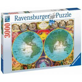 RAVENSBURGER - Antická Mapa 3000 Dílků