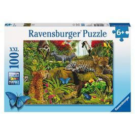 RAVENSBURGER - Divoká džungle, 100 dílků