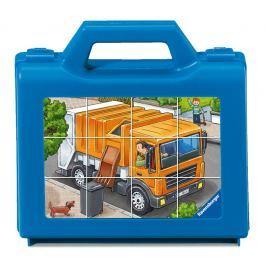 RAVENSBURGER - Kostky - Oblíbené vozidla, 12 dílků