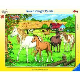 RAVENSBURGER - Koně 30-48D