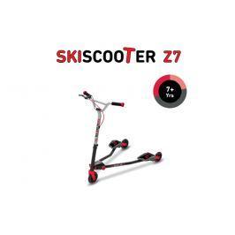 SMART TRIKE - koloběžka 222 Ski Scooter Z7 červená