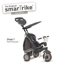 SMARTRIKE - Tříkolka Dazzle 5v1 antracitová 10m +