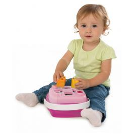 SMOBY - 110411 Cotoons Vkládačka košík, růžový