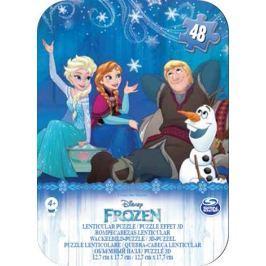 SPIN MASTER - Frozen Puzzle V Plechové Krabičce