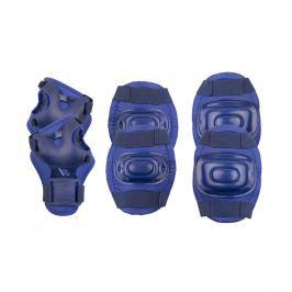 SPOKEY - AEGIS - 3-dílná sada dětských chráničů, tmavě modré, vel. S
