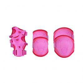 SPOKEY - BUFFER - 3-dílná sada dětských chráničů, růžové, vel. S