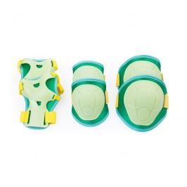 SPOKEY - BUFFER - 3-dílná sada dětských chráničů, zelené, vel. S
