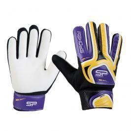 SPOKEY - CATCH II brankářské rukavice žluto-fialové roz. 5