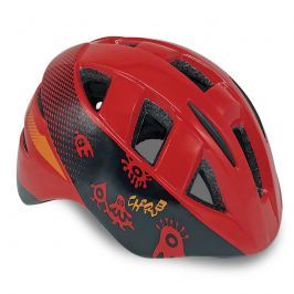 SPOKEY - CHERUB Dětská cyklistická přilba IN-MOULD, 48-54, červená