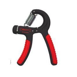 SPOKEY - CRAMP II Posilovač rukou, 20-40 kg s regulací, červený