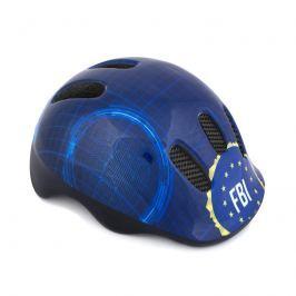SPOKEY - FBI Dětská cyklistická přilba, 48-52 cm