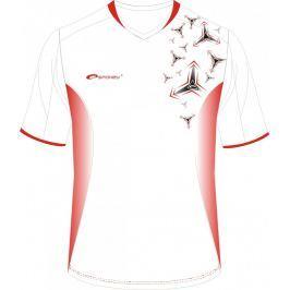 SPOKEY - Fotbalové tričko biele_vzor vel. S
