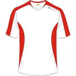 SPOKEY - Fotbalové triko bílo-červené vel. M