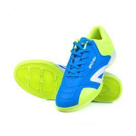 SPOKEY - HALL  JR 1 Juniorská sálová obuv modro-žlutá vel.34